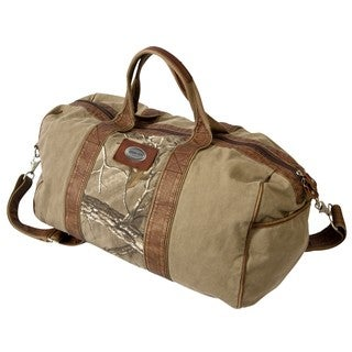 Canyon Outback Urban Edge Hudson Realtree Xtra 20-inch Canvas Duffel Bag