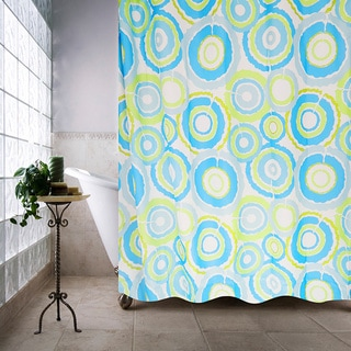 Park B. Smith Groovy Circles Watershed Shower Curtain