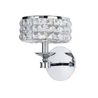 Crystorama Chelsea Collection 1-light Polished Chrome Wall Sconce