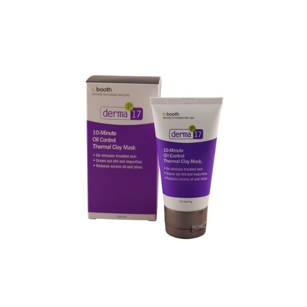 C. Booth Derma 10-minute Oil Control 2.5-ounce Clay Mask