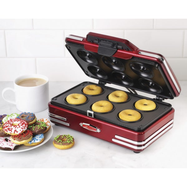 Nostalgia RMDM800 Retro Series '50s-Style Mini Donut Maker