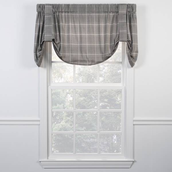Morrison Black Tie Up Valance