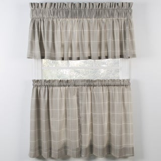 Morrison Natural Tiers and Tailored Valance
