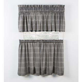 Morrison Black Tiers and Tailored Valance