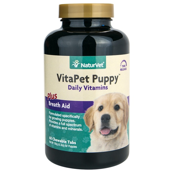 VitaPet Puppy Plus Breath Aid Tablets