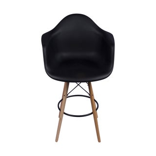 Retro Eames Style 26-inch Counter Stool