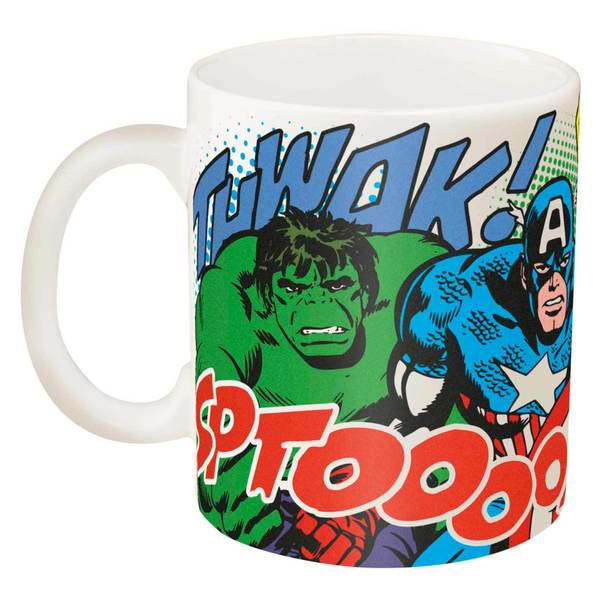 Marvel Heroes Coffee Mug
