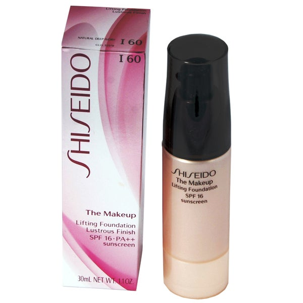 Shiseido The Makeup Lifting Foundation Lustrous Finish SPF 16 PA++ I60 Natural Deep Ivory