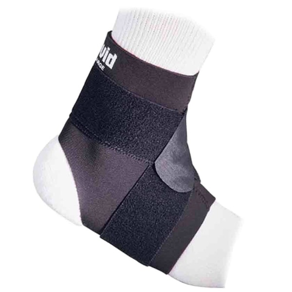 McDavid Classic 432 Ankle Level 2 Support with Figure 8 Straps (Black) 17519007