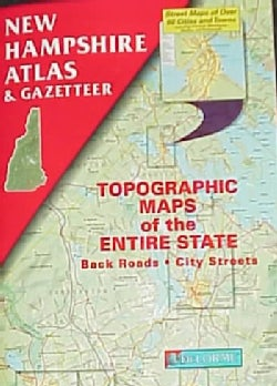 New Hampshire Atlas and Gazetteer (Paperback)
