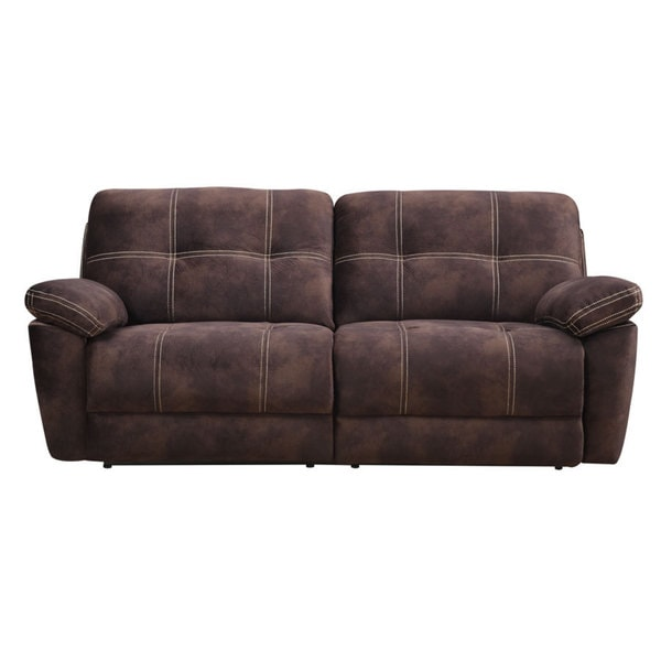 Pratta Chocolate Power Motion Sofa