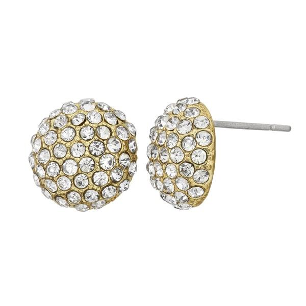 Isla Simone - Bombay Crystal Stud Earring