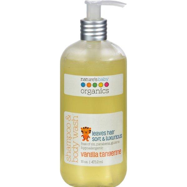 Nature's Baby Organics Vanilla Tangerine 16-ounce Shampoo & Body Wash