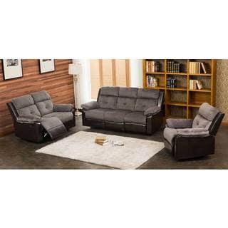 Stanford 3-pc Motion Recliner Living Room Set