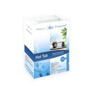 AquaFinesse Hot Tub Water Care Kit (Bromine Tabs)