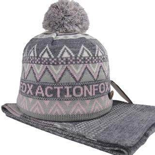 Unisex Warm Snowbarding Winter Hat and Scarf