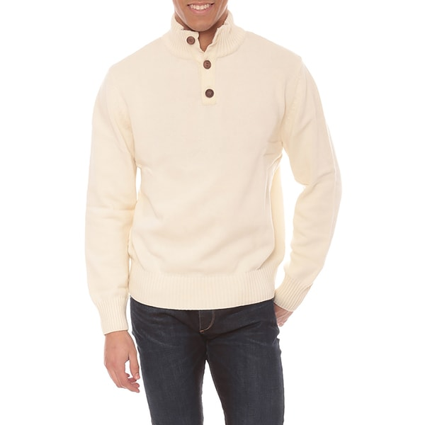 Three Button Sweater