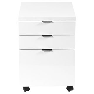 Gilbert File Cabinet - White Lacquer