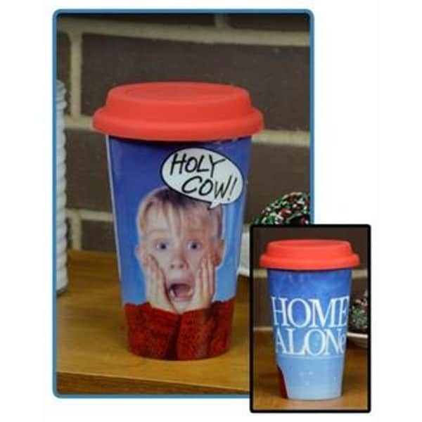 Holy Cow Home Alone 12-ounce Travel Mug