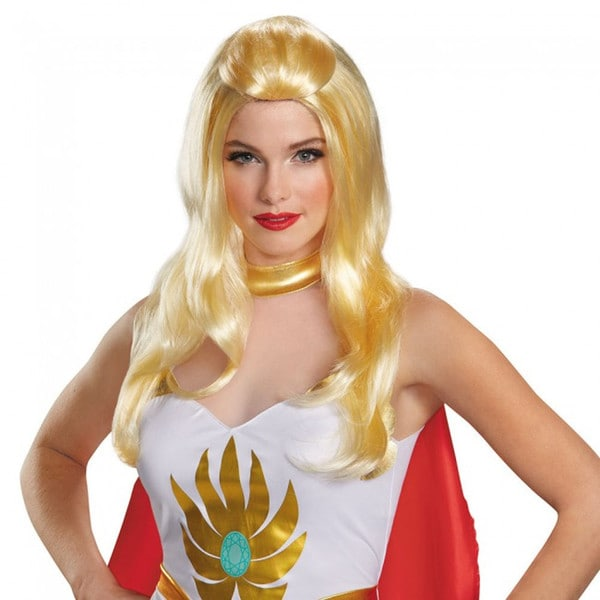 She-Ra Masters Of The Universe 80's Wig