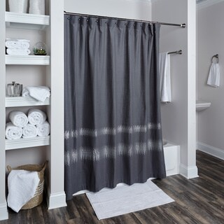 Chevron Collection Shower Curtain by Rizzy Home