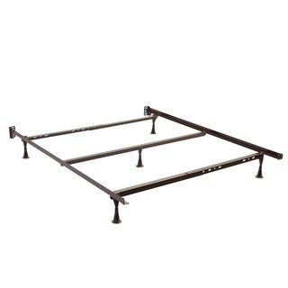 Twin/ Full/ Queen Angle Iron Steel Bed Frame with Cross Support