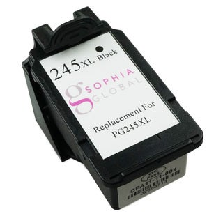 Sophia Global Remanufactured Ink Cartridge Replacement for PG-245XL (1 Black)