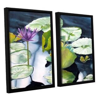 ArtWall 'Marina Petro's From Deep' 2-piece Floater Framed Canvas Set