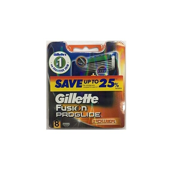 Gillette Fusion Proglide Power Refill 8-count Cartridge Blades