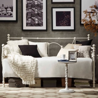 TRIBECCA HOME Bellwood Victorian Iron Metal Daybed