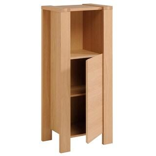 Etna 48-inch Natural oak Floor Stand Cabinet