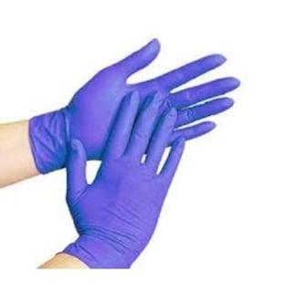 100/Box Disposable Powder-Free Nitrile Medical Exam Gloves (Latex Free) Large