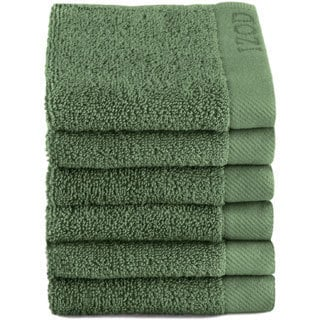 IZOD Classic Egyptian Cotton Wash Cloth (Set of 6)