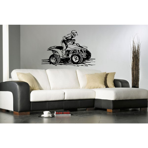 Motorcyclist Sport Man Wall Art Sticker Decal