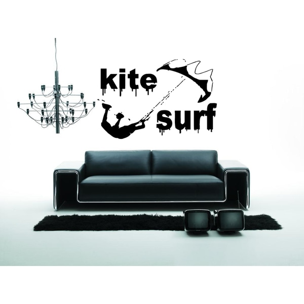 Kitesurfig wakeboarding Sport Wall Art Sticker Decal