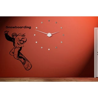 Snowboarding Sport Extreme Race Wall Art Sticker Decal