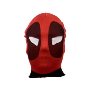 Deadpool Red Spandex Costume Mask