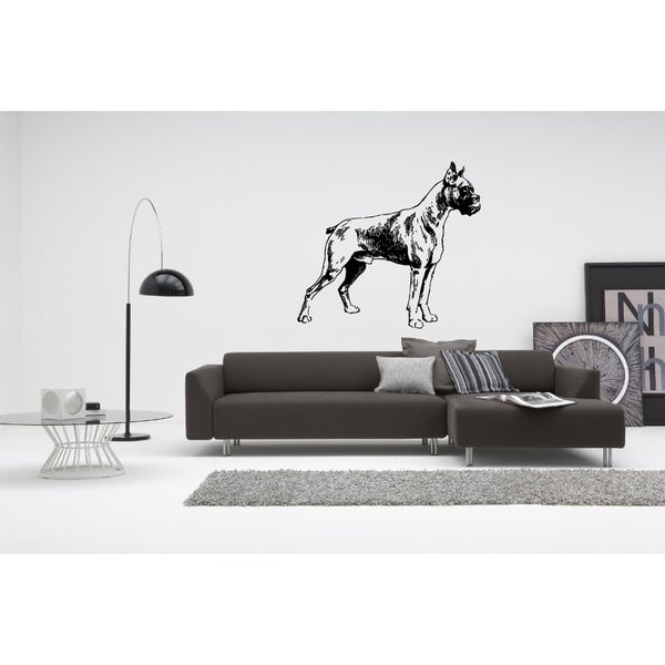 Boxer Dog Beautiful Pose Wall Art Sticker Decal