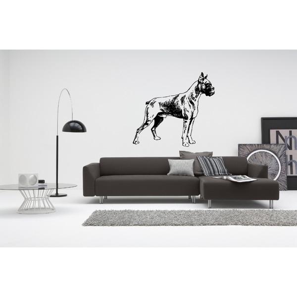Boxer Dog Beautiful Pose Wall Art Sticker Decal