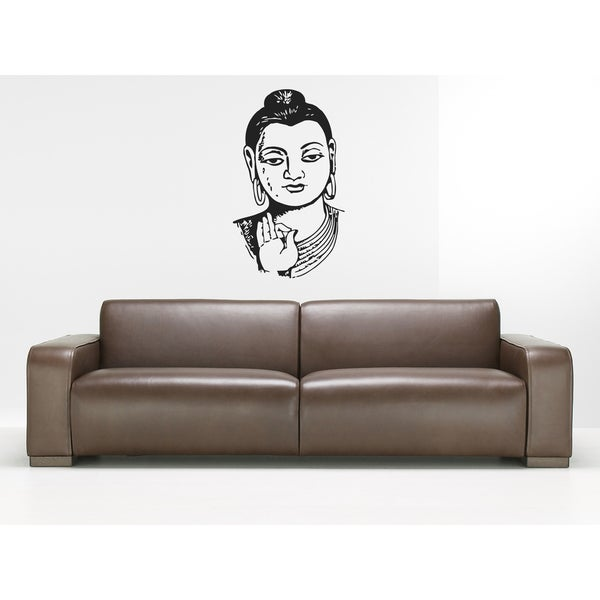 Gautama Buddha Siddhrtha Gautama Shakyamuni Buddhism awakened one the enlightened one India Wall Art Sticker Decal