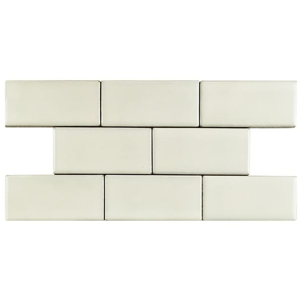 SomerTile 2.75x5.75-inch Aspect Ivory Porcelain Floor and Wall Tile (Pack of 8)