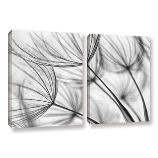 ArtWall 'Cora Niele's Parachute Seed I' 2-piece Gallery Wrapped Canvas Set