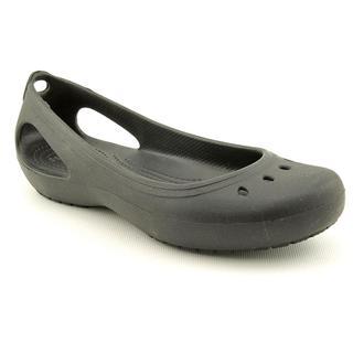 Crocs Women's 'Kadee Flat' Synthetic Casual Shoes