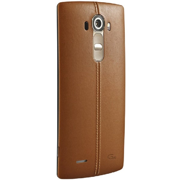 LG G4 H811 32GB Unlocked GSM Cell Phone With Retail Packaging - Brown Leather