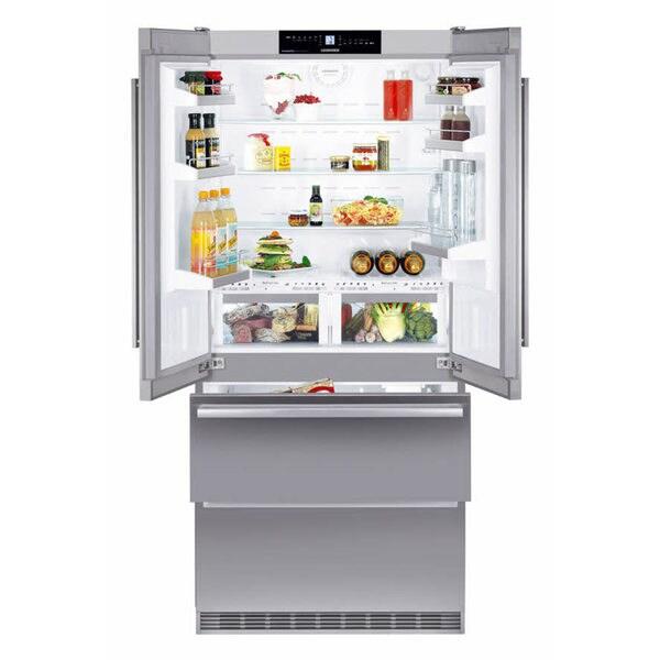 Liebherr Cbs2062 18.8-cubic Foot Counter-depth Biofresh French Door Refrigerator