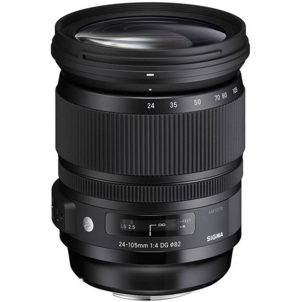 Sigma 24-105mm f/4 DG OS HSM Art Lens for Nikon