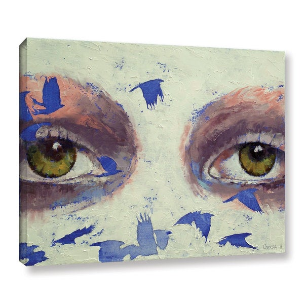 ArtWall 'Michael Creese's The Crow is My Only Friend' Gallery Wrapped Canvas