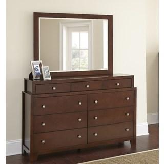 LYKE Home Weston Dresser and Mirror Set