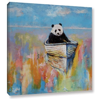 ArtWall 'Michael Creese's Panda' Gallery Wrapped Canvas