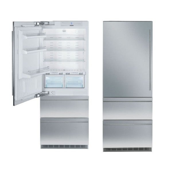 Liebherr Premium Plus Series 30 -inch Fully Integrated Bottom-freezer Refrigerator